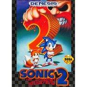 Refurbished Sonic The Hedgehog 2 For Sega Genesis