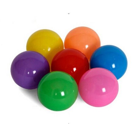 (Pack of 100) Phthalate Free, Crush-Proof Pit Balls (Plastic Balls For Sale)
