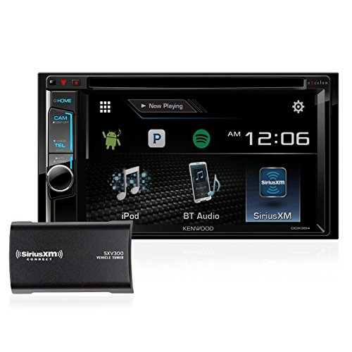 "Kenwood DDX394-SAT 6.2"" DVD Receiver with SiriusXM SXV300V1 Satellite Tuner by Kenwood"