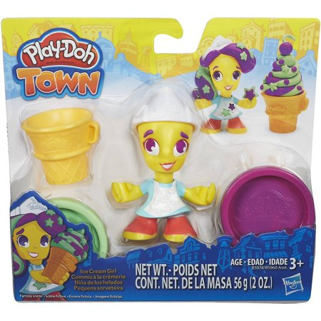 Play Doh Town Ice Cream Girl