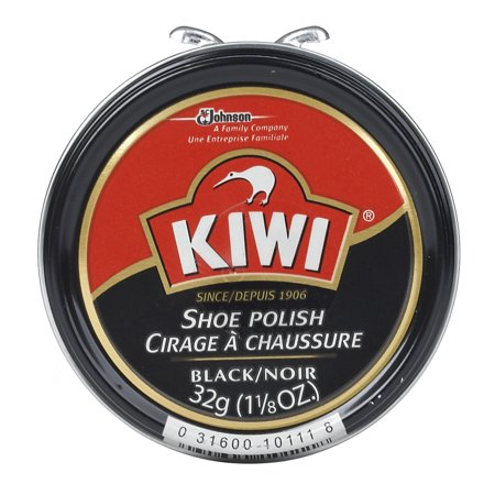 KIWI Paste Polish, Black, 1.125 Ounces