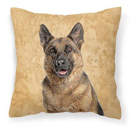 Carolines Treasures Brown German Shepherd Decorative Outdoor Pillow (German Decorative)