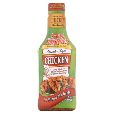 Tony Chacheres Creole Style Chicken Sauce  12 Fl Oz
