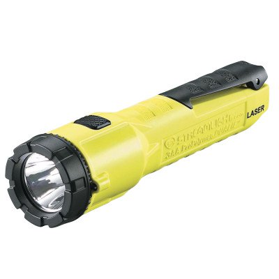 3AA DUALIE LASER DIV 1 YELLOW W/BATTERIES  CLAM
