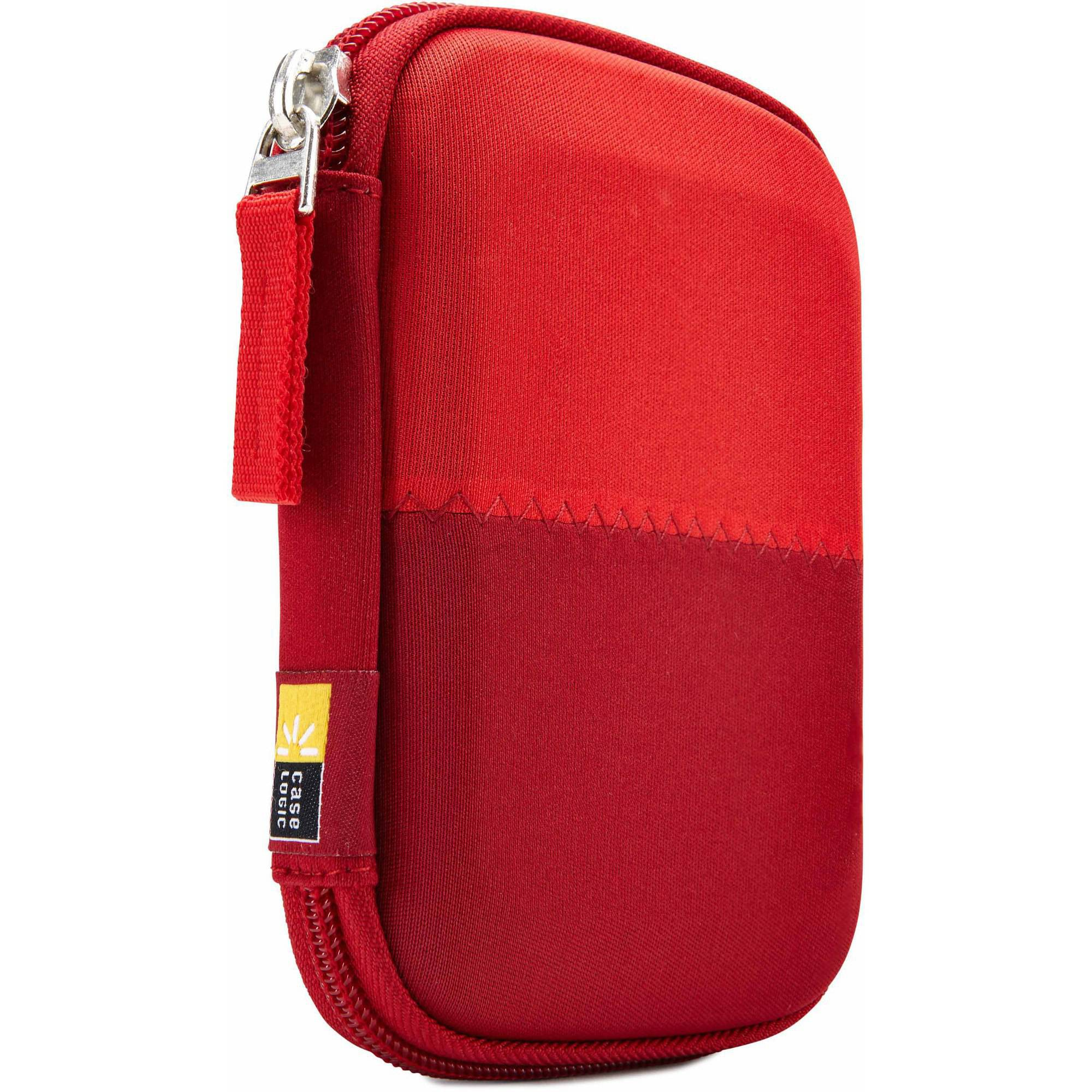 Case Logic HDC-11 Portable Hard Drive Case, Burgundy