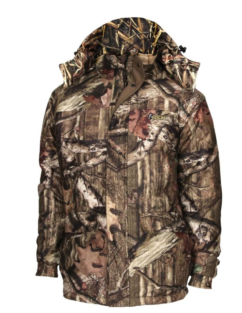 Rocky Outdoor Jacket Men ProHunter Convertible Parka Mossy Oak HW00129 by Rocky