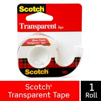 3M COMPANY 144 1/2x450 Transparent Tape