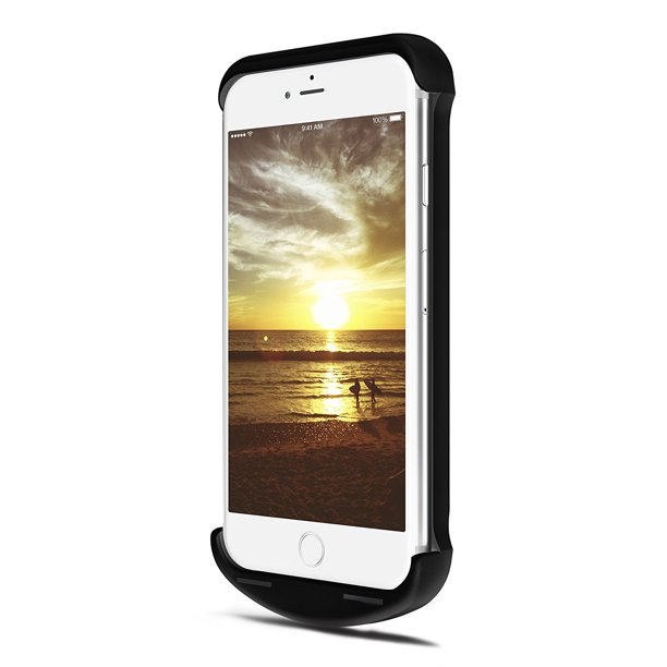 mJoose Signal Booster Battery Case for Apple iPhone 6 and 6S, Black