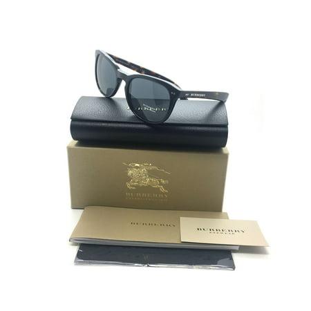 16718fd947f Burberry - Burberry Women Black Full Rim New Sunglasses B 4214 3554 87 3N  55 Plastic - Walmart.com