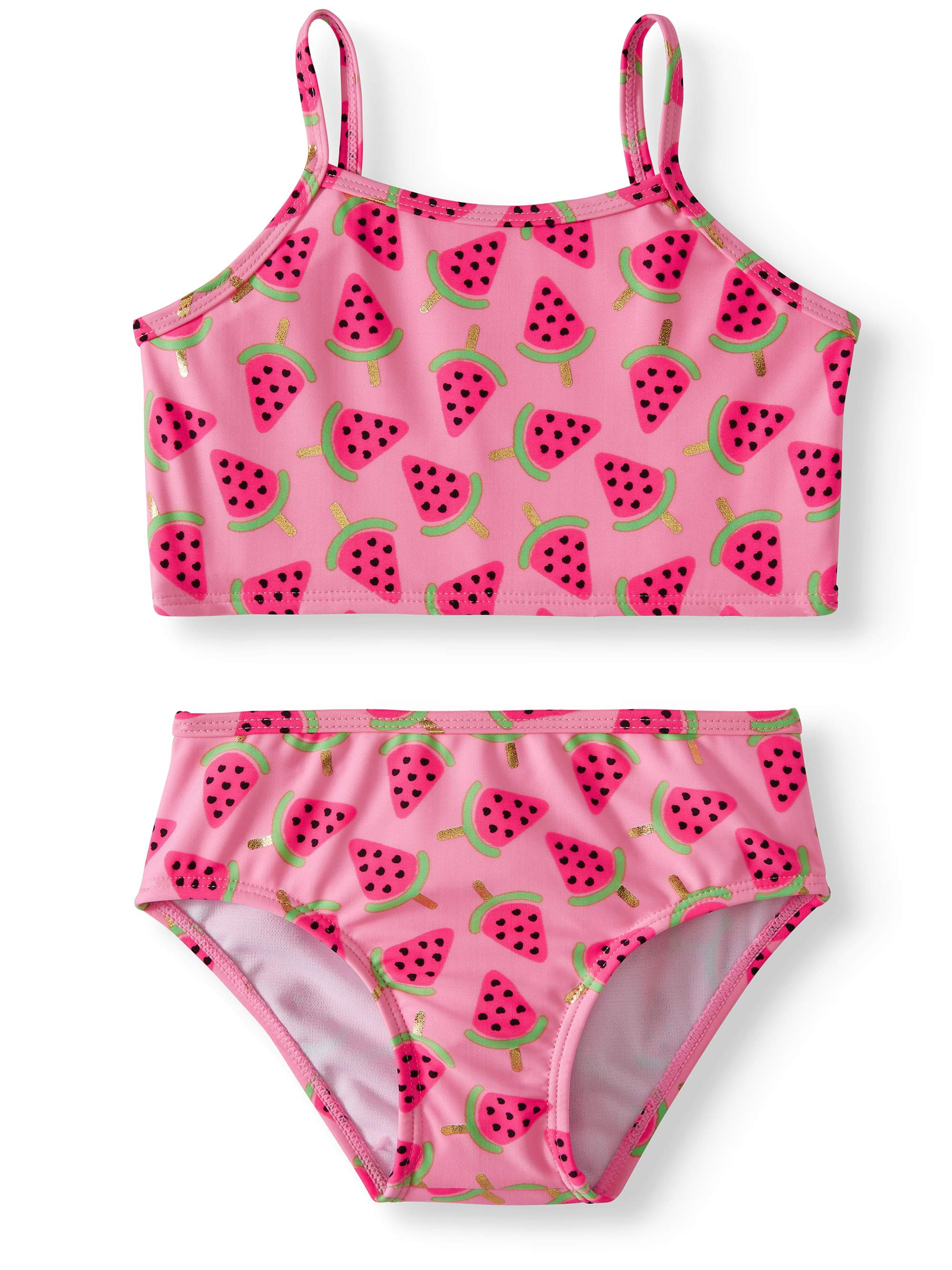 Watermelon Tankini Swimsuit (Little Girls)