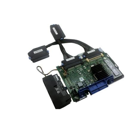 Dell PERC 6i Dual Channel PCIe SAS Raid Controller w/ BBU & Cables