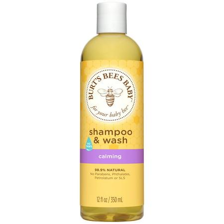 Burt's Bees Baby Shampoo & Wash, Calming Tear Free Baby Soap - 12 Ounce