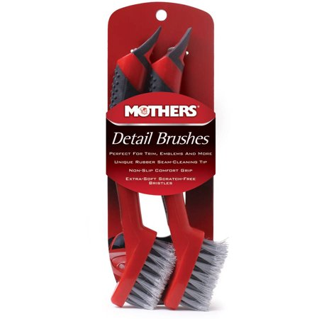 mothers car detailing brush set 2 pack. Black Bedroom Furniture Sets. Home Design Ideas