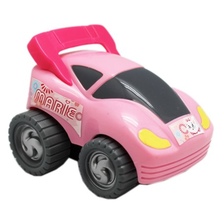 Disney's The Aristocats Marie Cat Friction Powered Kids Turbo Car: - Aristocats Marie
