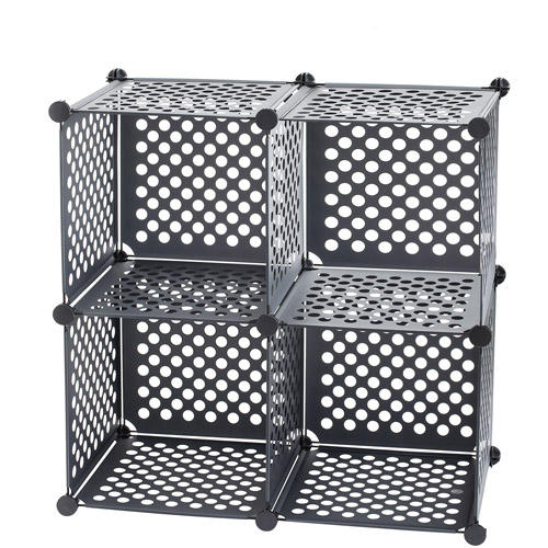 Neu Home Perforated PP Cube, Set of 4