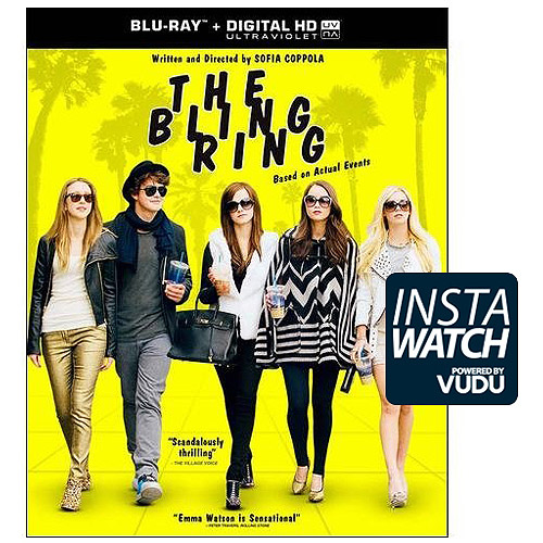 The Bling Ring (Blu-ray + Digital HD) (With INSTAWATCH) (Widescreen)