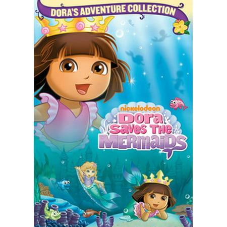 Dora The Explorer: Dora Saves The Mermaids (DVD) (Dora Halloween Show)
