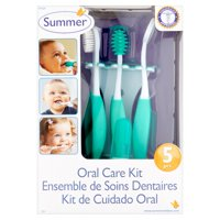 Summer Infant Baby Oral Care Kit, 5 pc
