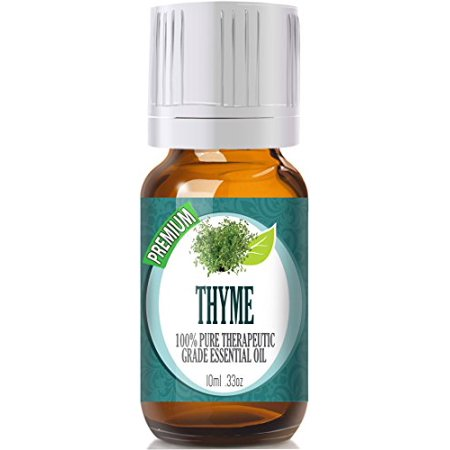 Thyme - (Premium) 100% Pure, Best Therapeutic Grade Essential Oil - 10ml