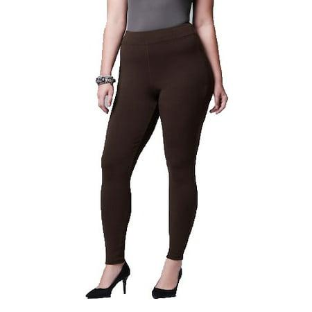c707d779db58a1 Simply Vera - Women's Simply Vera Wang Solid Heavyweight Cotton Leggings -  Walmart.com