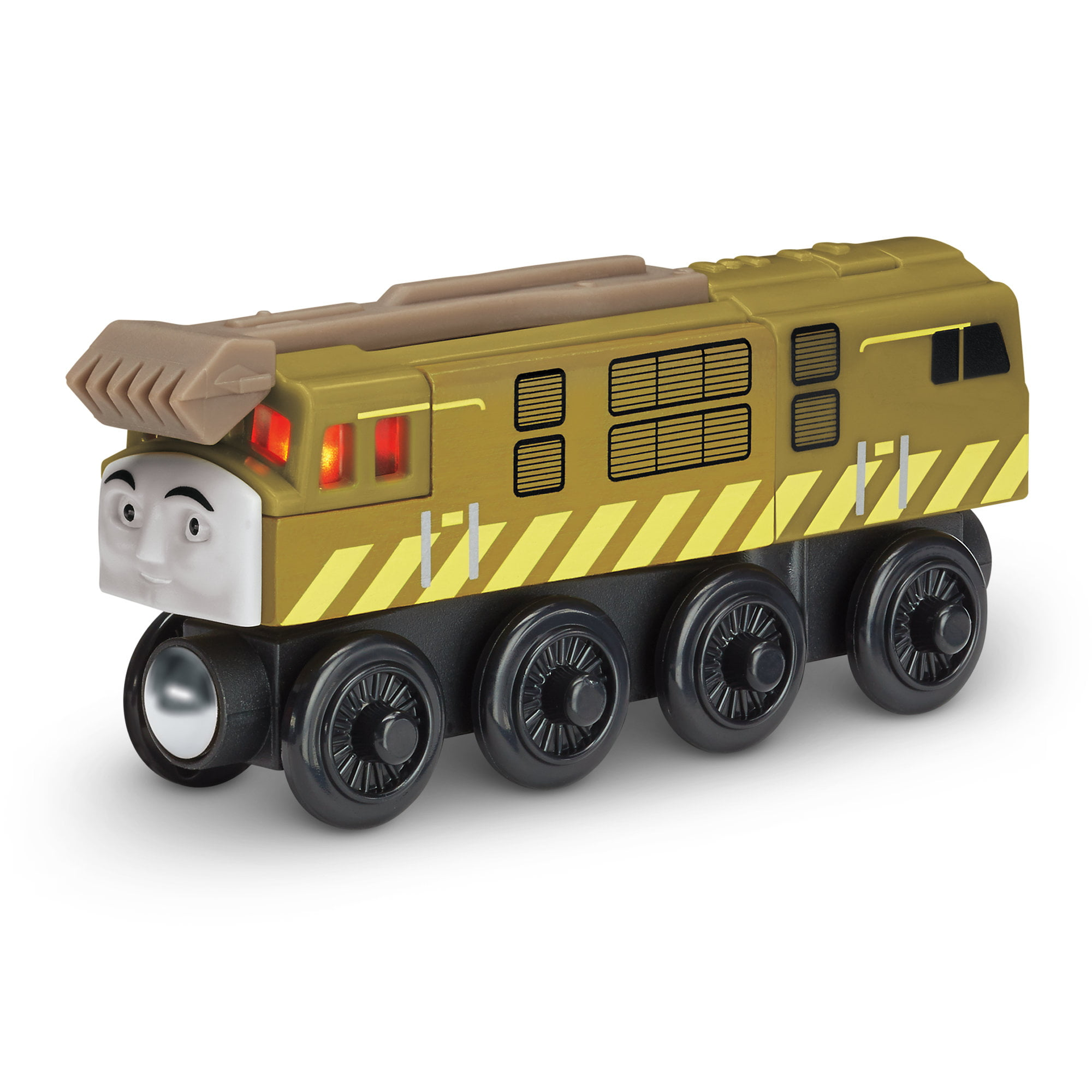 Fisher Price Thomas the Train Wooden Railway Talking Diesel 10 by Fisher-Price