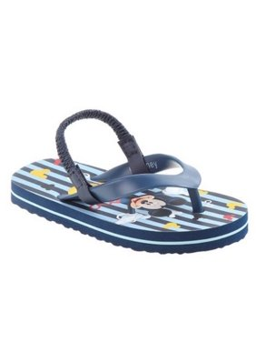 Josmo Mens Mickey Mouse Flip Flop