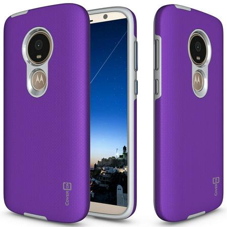 CoverON Motorola Moto E5 Play / Moto E5 Cruise Case, Rugged Series Protective Hybrid Phone Cover