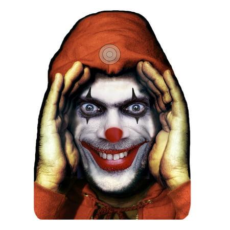 Scary Peeper Cling Halloween Décor: Clown