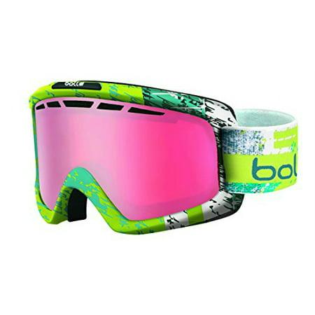 b6e41e2b9 *Bolle Goggles 21388 Matte Lime and Teal Gun Nova II - Walmart.com