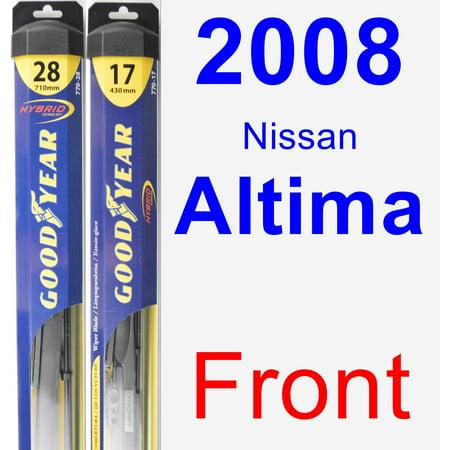 2008 Nissan Altima Wiper Blade Set/Kit (Front) (2 Blades) - Hybrid 2007 Nissan Altima Hybrid