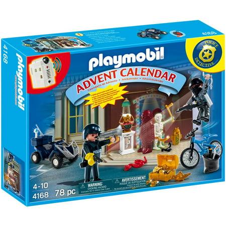 playmobil christmas police advent calendar set playmobil. Black Bedroom Furniture Sets. Home Design Ideas