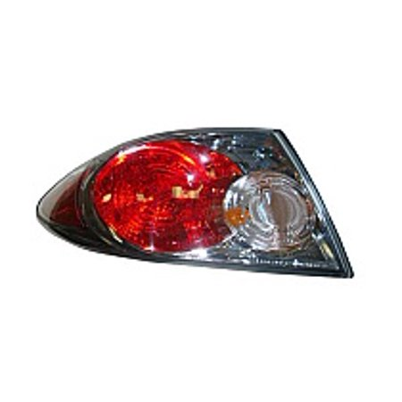 Go-Parts » 2006 - 2008 Mazda 6 Mazda6 Rear Tail Light Lamp Assembly (without Turbo + Standard Type + Factory Installed + Hatchback + Sedan) - Left (Driver) GP7A-51-160 MA2804102 Replacement For)
