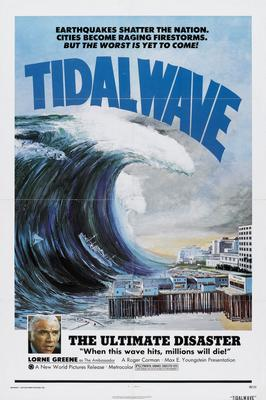 Tidal Wave Movie Poster 11x17 Mini Poster by