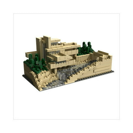 lego architecture series frank lloyd wright s fallingwater 21005