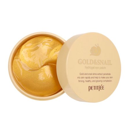 PETITFEE Gold and Snail Hydrogel Eye Patch](Eye Patch Leather)