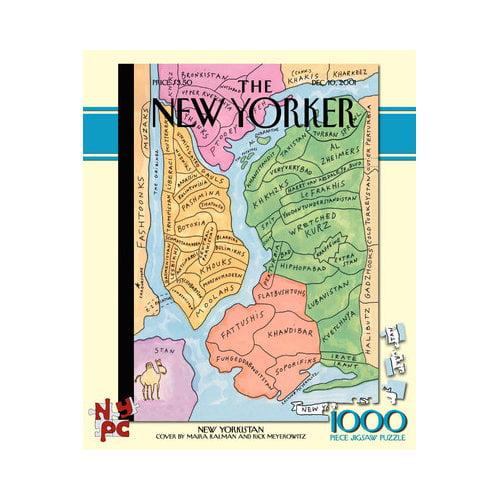 New Yorkistan 1000pc Puzzle