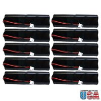 10pc Exit Lighting Battery Lithonia Exit Sign D-AA650BX4 Flat Pack FAST USA SHIP