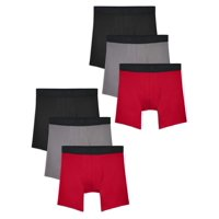 Deals on 6-Pack Fruit of the Loom Mens Lightweight Micro-Mesh Boxer Briefs