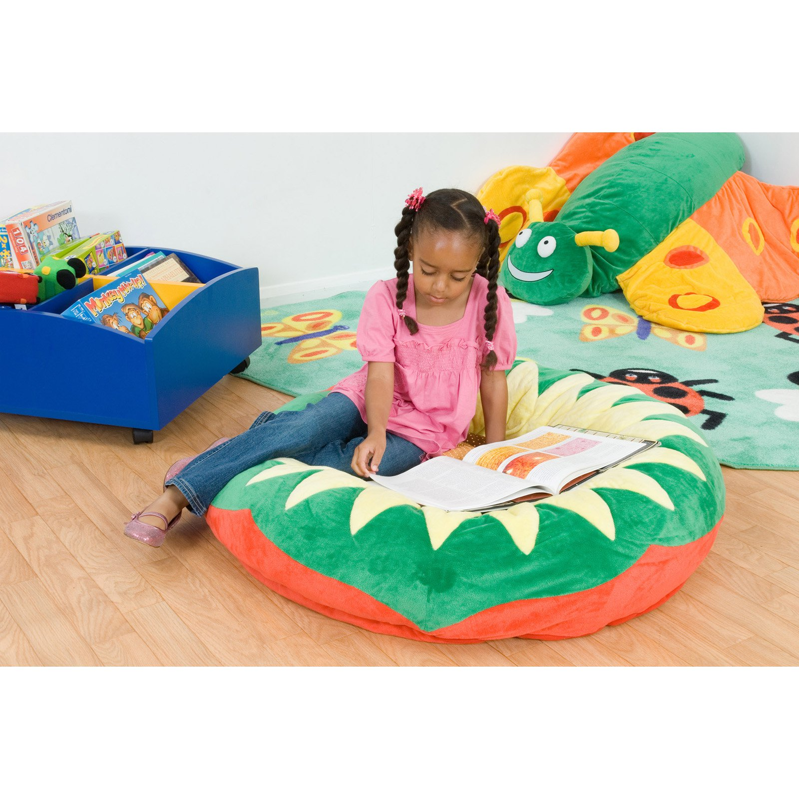 Kalokids Petal Sunflower Giant Floor Cushion