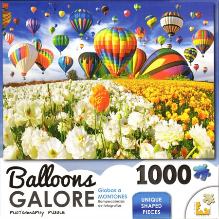 Balloons Galore 1000 Piece Puzzle - Balloon Flower Field](1000 Balloons)