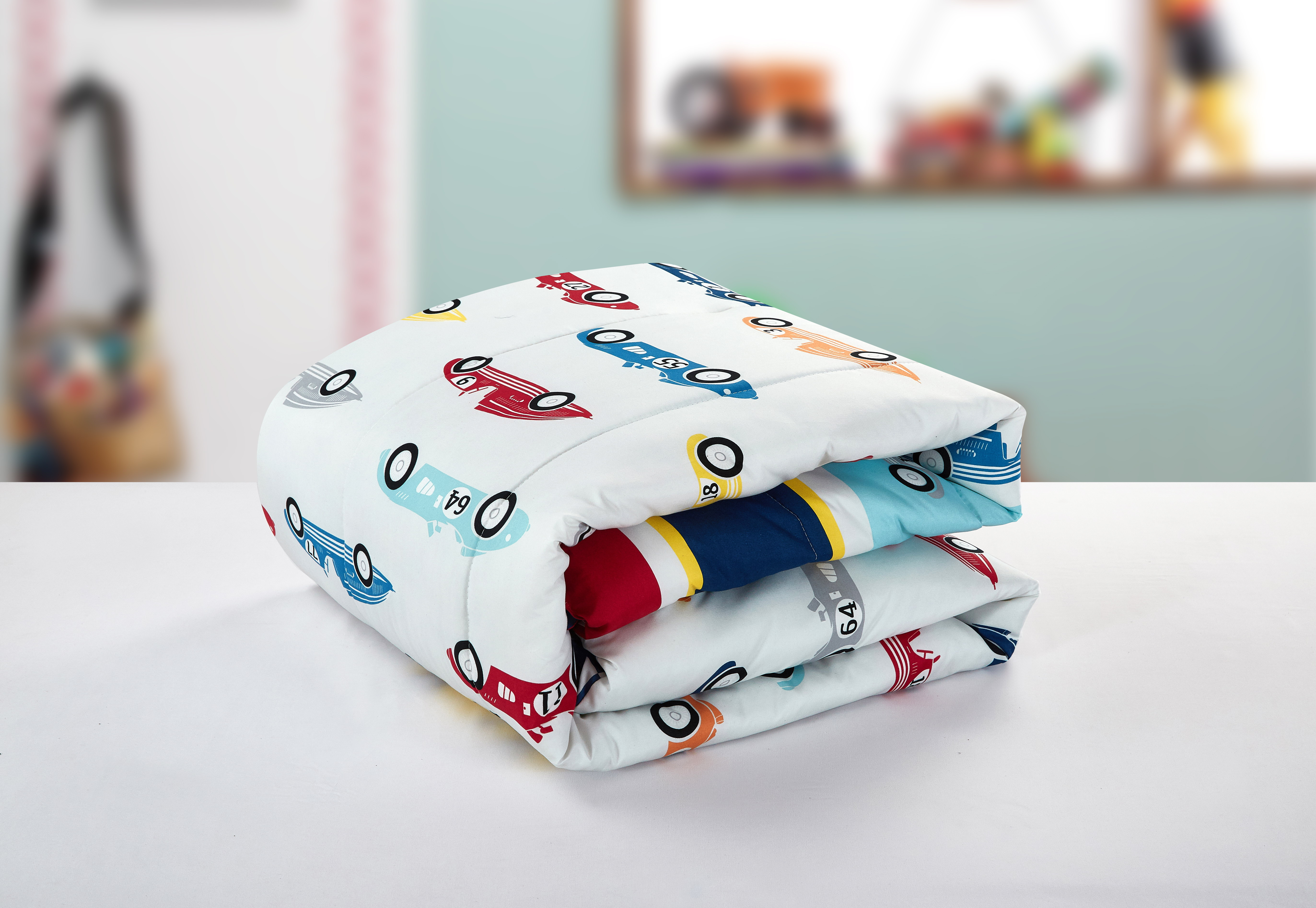 Better Homes And Gardens Kids Race Car Comforter Set Size Full New ...