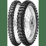 Pirelli 1662600 scorpion mx mid soft tire rear 100/90-19