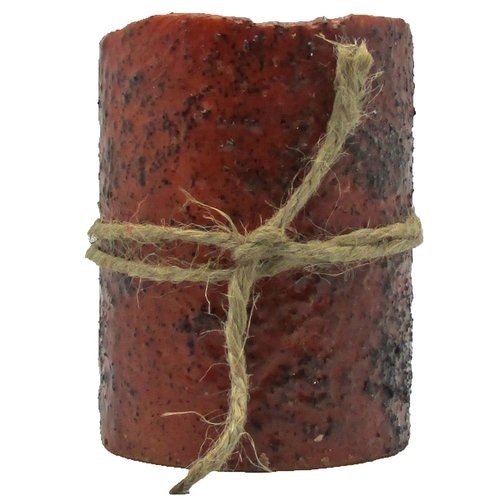 Star Hollow Candle Company Rustic Unscented Pillar Candle