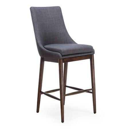 Miraculous Belham Living Carter Mid Century Modern Upholstered Bar Height Stool Forskolin Free Trial Chair Design Images Forskolin Free Trialorg