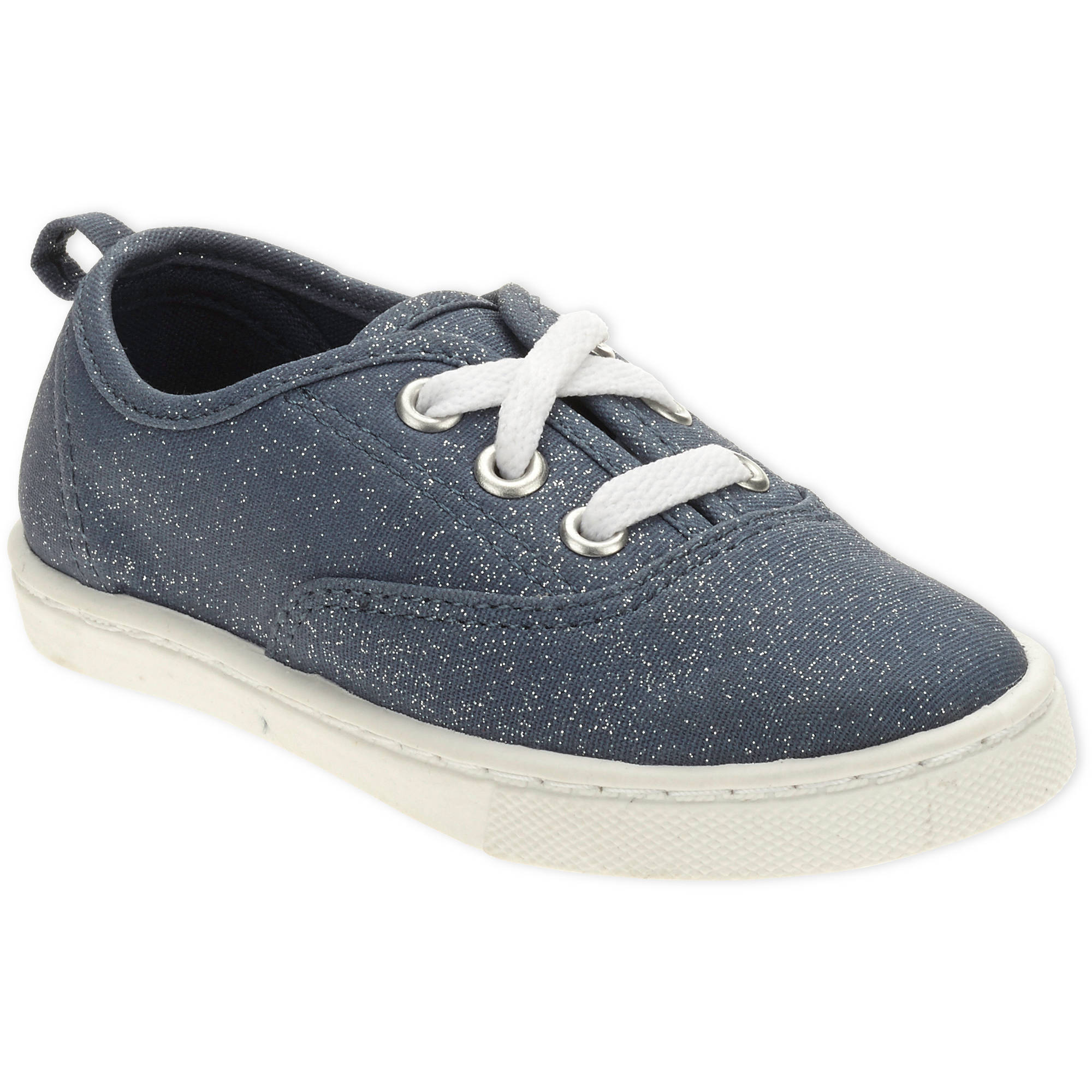 Faded Glory Toddler Girls' Lace-Up Canvas Shoe