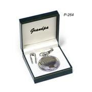 Grandpa Pocket Watch Fathers Day Gift Item 264