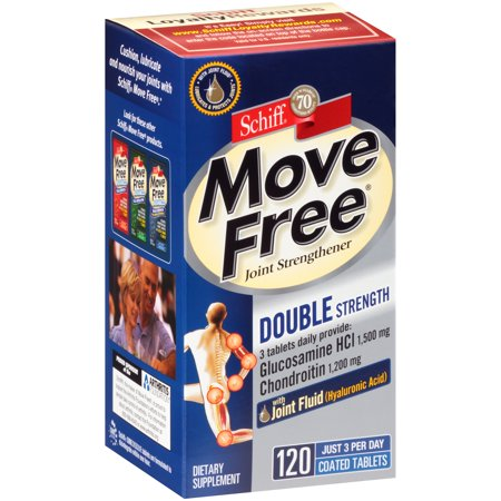 Glucosamine Chondroitin 240 Tabs - Schiff® Move Free® Joint Strengthener 120 Coated Tabs. Box