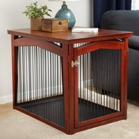 """Merry Products 2-in-1 Dog Crate and Gate, Medium, 22.48""""L x 32.48""""W x 23.35""""H"""