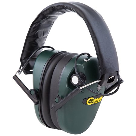 E-Max Low Profile Electronic Ear Muffs, 23 NRR (Noise Reduction Rating) By