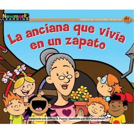 Newmark Learning NL2101 Nursery Rhyme Tales Set 2 - La Anciana Que Vivia En Un Zapato - The Old Woman Who Lived in a Shoe